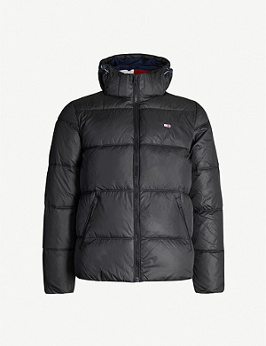 TOMMY JEANS Padded shell hooded jacket