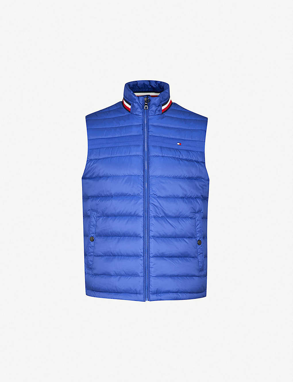 62b805671a1 TOMMY HILFIGER - Coeen padded shell, down and feather blend gilet ...
