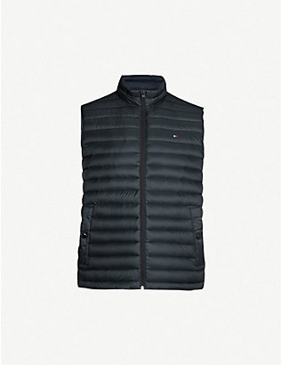 TOMMY HILFIGER: Padded shell-down gilet