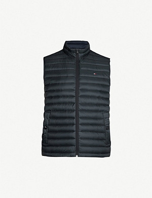 TOMMY HILFIGER Padded shell-down gilet