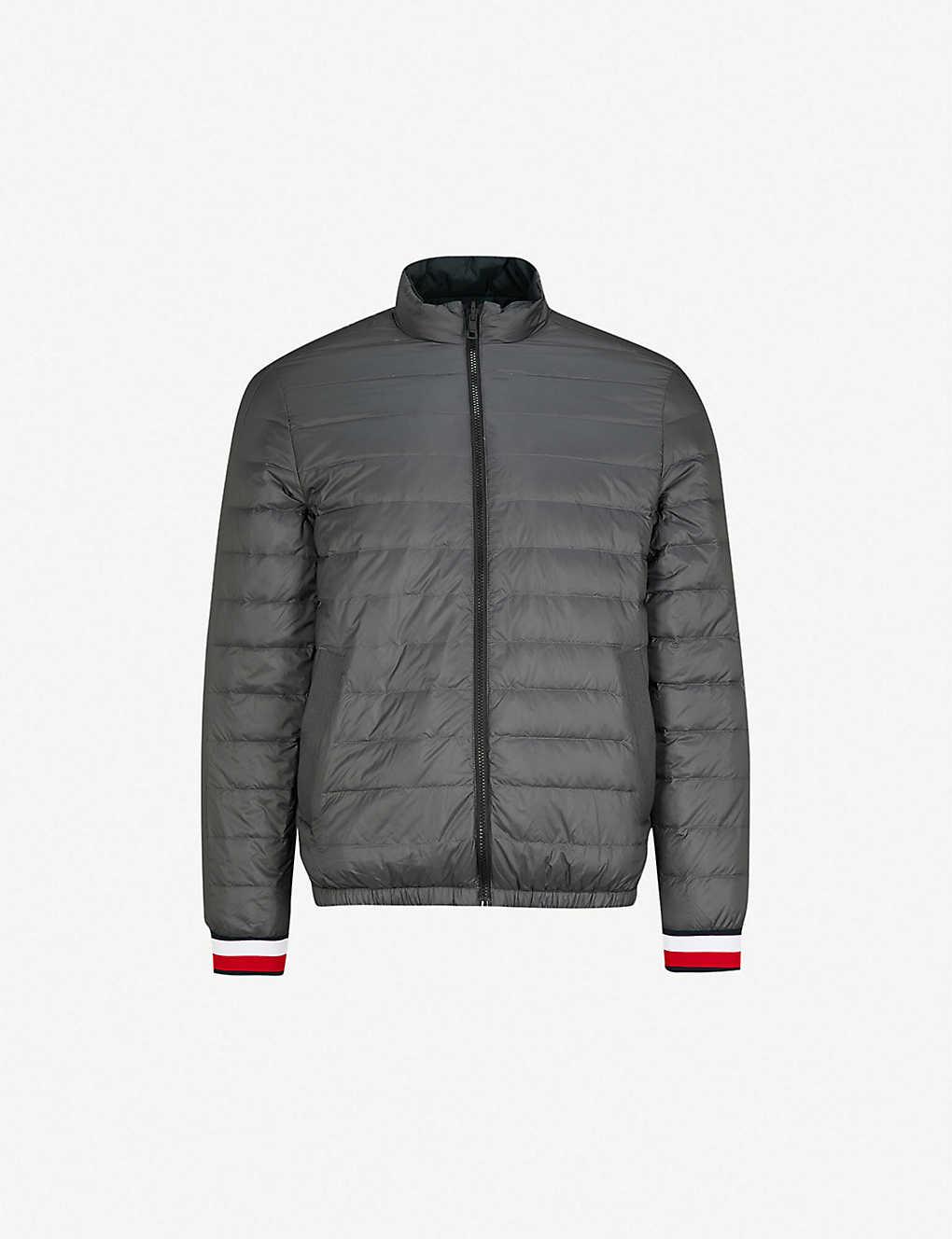d283e0271 TOMMY HILFIGER - Reversible shell-down bomber jacket | Selfridges.com