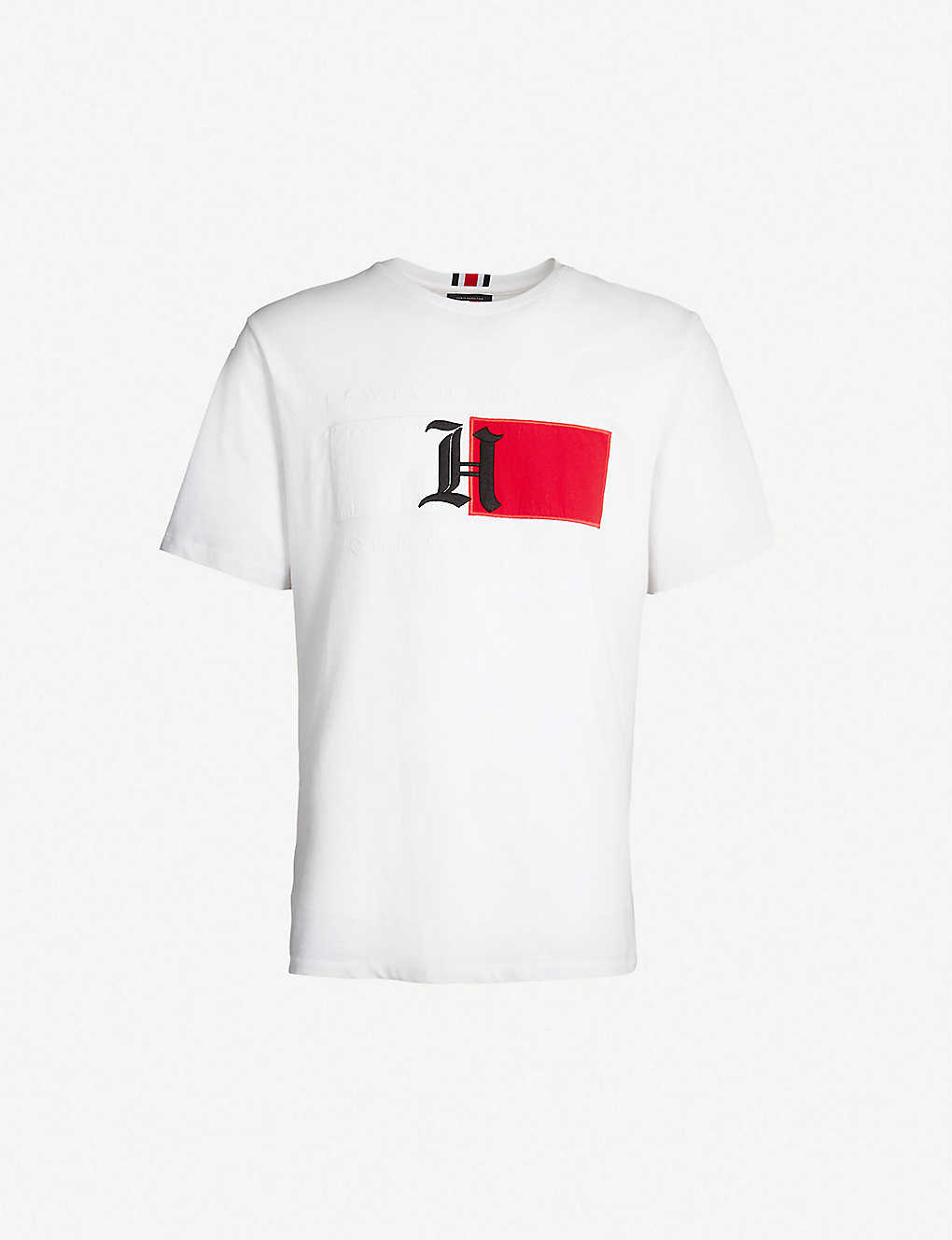 c4d11905 TOMMY HILFIGER - Tommy Hilfiger X Lewis Hamilton cotton-jersey T-shirt |  Selfridges.com