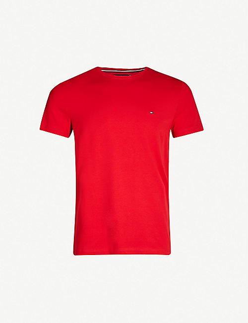 2b21d431 TOMMY HILFIGER - Plain T-Shirts - T-Shirts - Tops & t-shirts ...