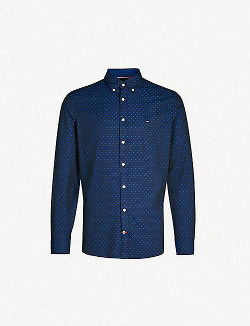 11035feaf26645 TOMMY HILFIGER - Shirts - Clothing - Mens - Selfridges