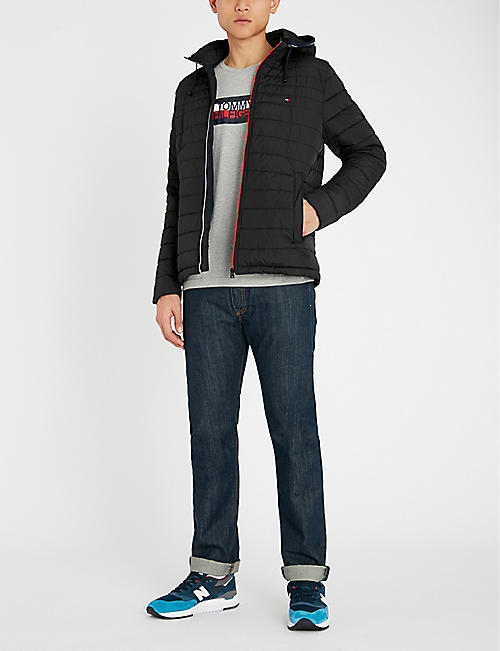 TOMMY HILFIGER Quilted shell jacket