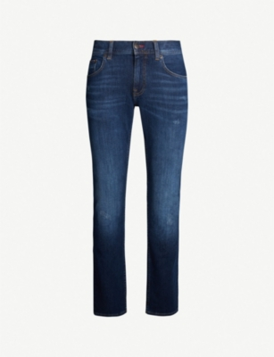 TOMMY HILFIGER Denton straight-fit tapered jeans