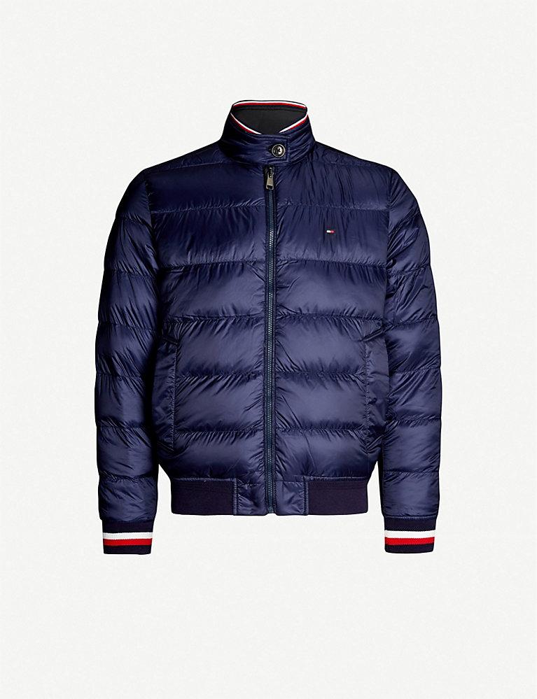 95d60da79 Harrington reversible shell-down jacket