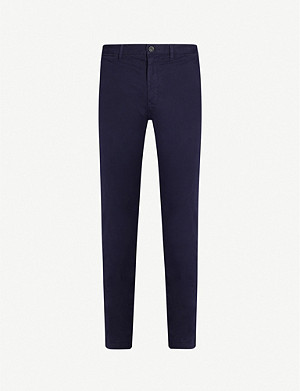 TOMMY HILFIGER Bleecker slim-fit stretch-cotton chinos