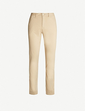 TOMMY HILFIGER Denton slim-fit tapered stretch-cotton chinos