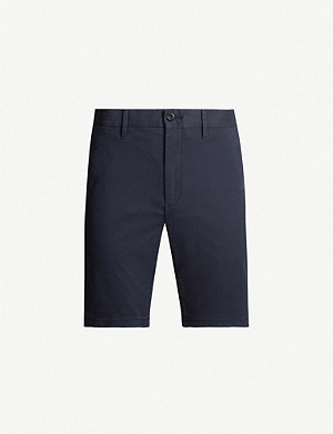 TOMMY HILFIGER Denton stretch-cotton-twill shorts