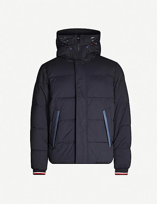 TOMMY HILFIGER Hooded shell-down jacket