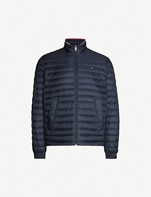 TOMMY HILFIGER Packable padded shell-down jacket