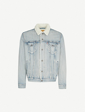LEVI'S Type 3 Sherpa Trucker denim jacket