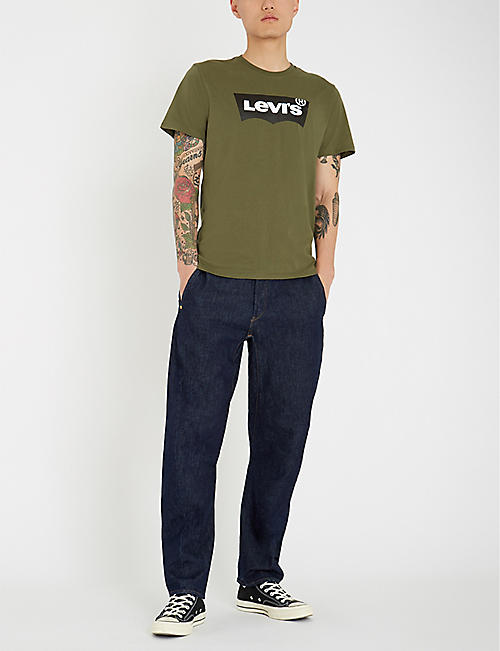 LEVIS 570 baggy-fit tapered jeans