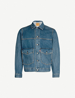 LEVI'S Patch pocket denim trucker jacket