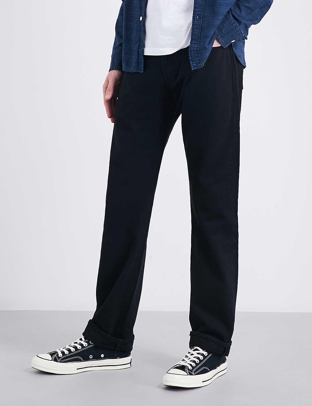 6a58a3ba LEVI'S - 501 Original regular-fit straight jeans | Selfridges.com