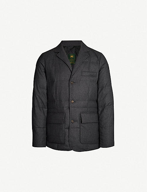 Canada Goose Henry Poole Wool Felt Down Three Button Jacket