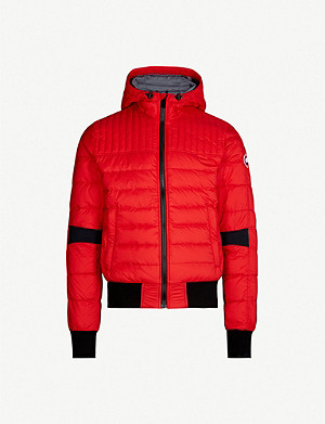 b6ac661229803 CANADA GOOSE - Forester patch-pocket shell and down-blend jacket ...