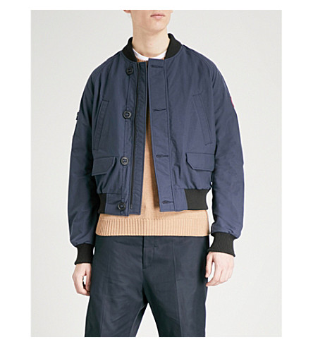 CANADA GOOSE FABER SHELL BOMBER JACKET, POLAR SEA