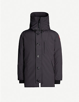 CANADA GOOSE: Chateau shell-down hooded parka