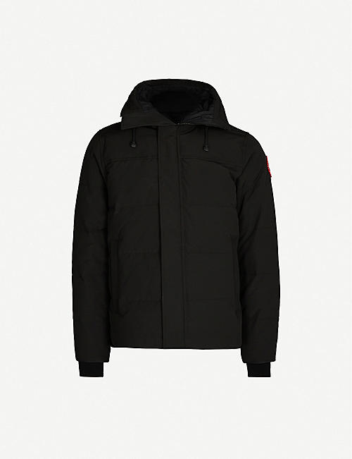 CANADA GOOSE Macmillan quilted cotton and nylon-blend parka
