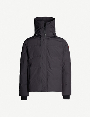 CANADA GOOSE Macmillan quilted nylon-down hooded parka