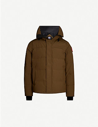 CANADA GOOSE: Macmillan quilted shell-down hooded parka