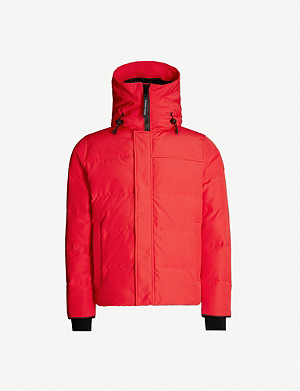CANADA GOOSE Macmillan quilted shell-down hooded parka