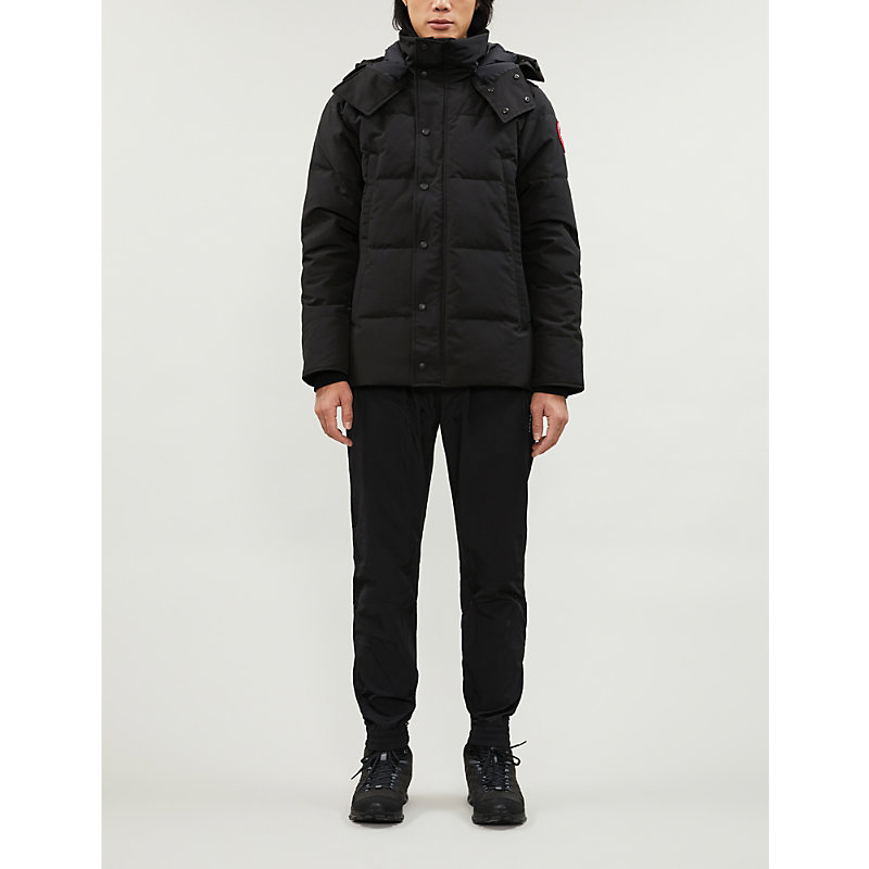 Canada Goose Jackets WYNDHAM SHELL-DOWN HOODED JACKET