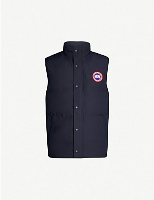 CANADA GOOSE: Garson padded shell-down gilet