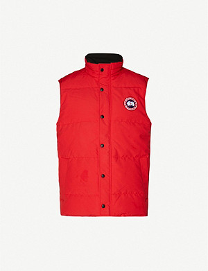 CANADA GOOSE Garson padded shell-down gilet