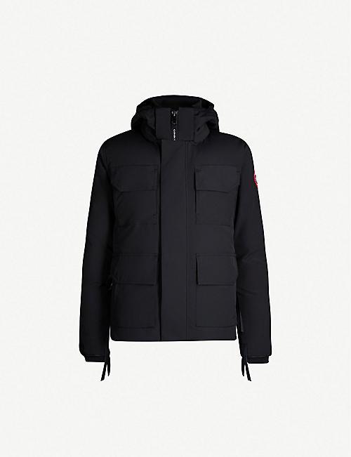 2e45e629ad4 CANADA GOOSE - Maitland hooded shell parka jacket | Selfridges.com
