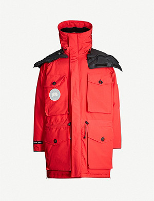 CANADA GOOSE Canada Goose x Juun.J Expedition shell-down hooded parka