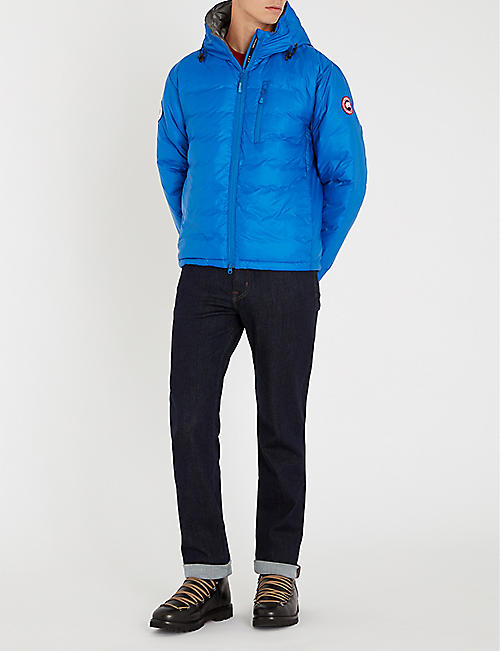 CANADA GOOSE Lodge hooded shell-down jacket