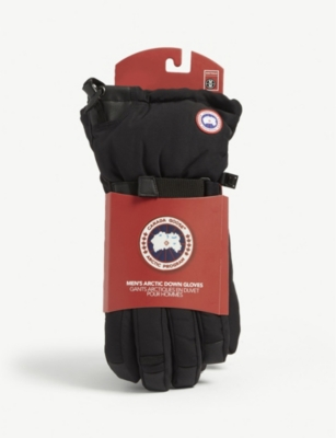 CANADA GOOSE Down-insulated Arctic gloves