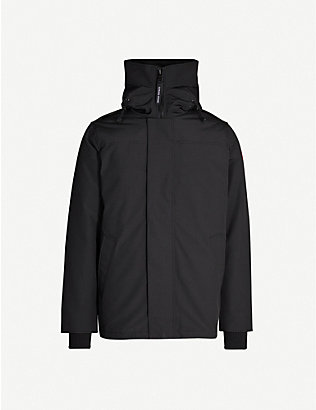 CANADA GOOSE: Garibaldi funnel-neck shell-down jacket