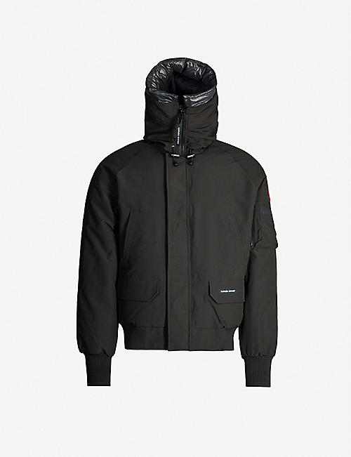 CANADA GOOSE Chilliwack shell-down hooded bomber jacket