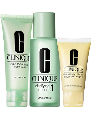CLINIQUE 3 Step Introduction Kit - Type 1