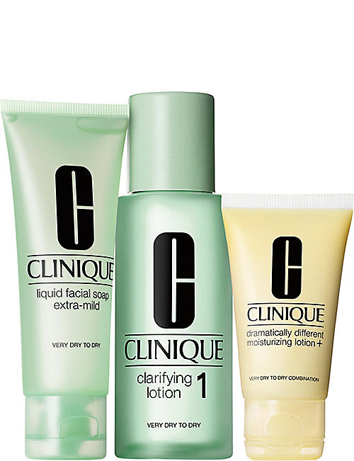 CLINIQUE: 3 Step Introduction Kit - Type 1