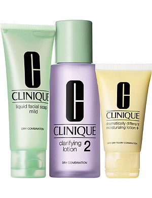 CLINIQUE 3 Step Introduction Kit - Type 2