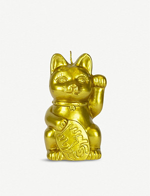 GIFT REPUBLIC Lucky Cat reveal candle 17cm x 7.5cm x 9cm