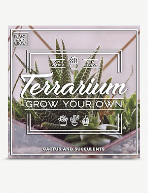 GIFT REPUBLIC Grow Your Own Terrarium set