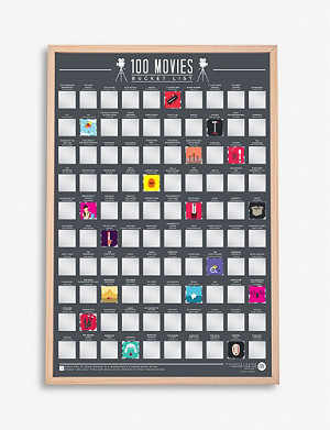 GIFT REPUBLIC 100 Movies bucket list