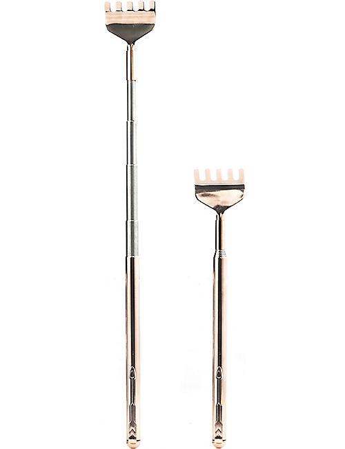 KIKKERLAND Telescopic copper back scratcher