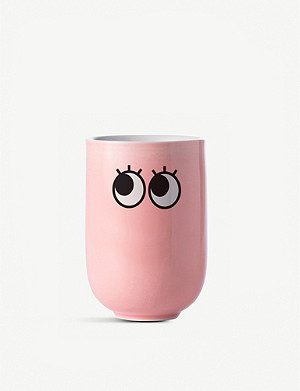MUSTARD Googly Eyes double wall mug