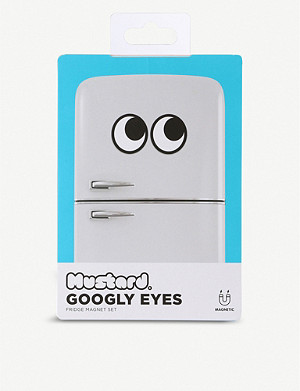 MUSTARD Googly Eyes Fridge Magnets