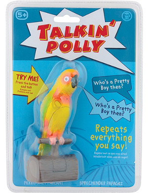 TOBAR Talking polly toy parrot