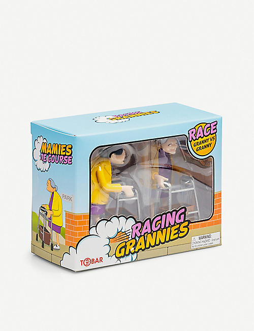 TOBAR Racing grannies toy set of 2