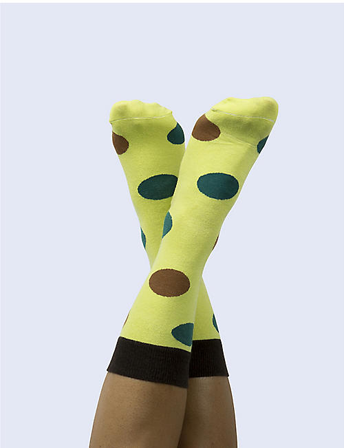 DOIY Avocado cotton socks