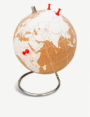 SUCK UK Small cork globe